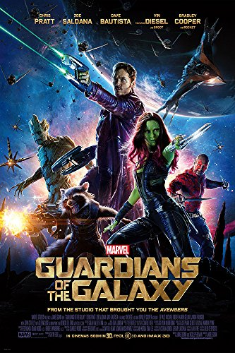 "Guardians Of The Galaxy (2014) Movie Poster 11""X17"" Chris Pratt, Vin Diesel, Bradley Cooper - New. Ships Rolled In Shipping Tube."