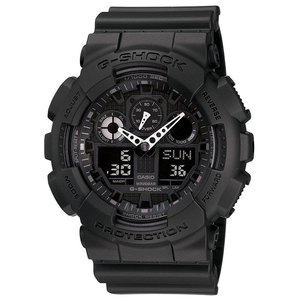 Casio Black G Shock GA 100-1A1 Military Watch