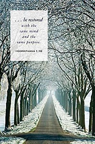 Winter Path Scripture Series Bulletin (Pkg of 50) PDF