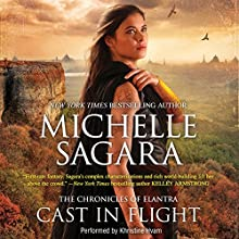 Cast in Flight: Chronicles of Elantra, Book 12 Audiobook by Michelle Sagara Narrated by Khristine Hvam