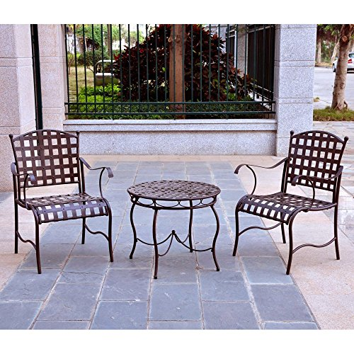 International-Caravan-Santa-Fe-3-pc-Outdoor-Patio-Bistro-Set