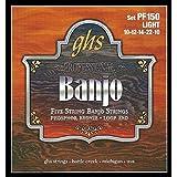 GHS Strings PF150 5-String Banjo Strings, Phosphor Bronze, Light (.010-.022)