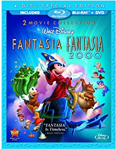 Fantasia Fantasia 2000 Four-disc Blu-raydvd Combo from Walt Disney Studios Home Entertainment