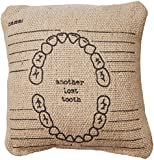 Primitives by Kathy Another Lost Tooth Pillow, 5.25-Inch by 5.25-Inch