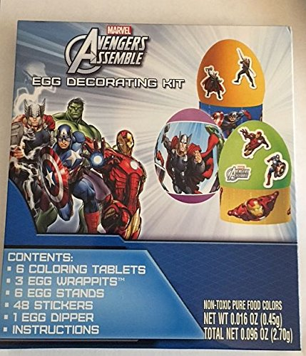 Marvel Avengers Easter Egg Decorating Kit - 1