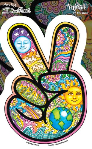Dan Morris - Peace Hand - Sticker / Decal