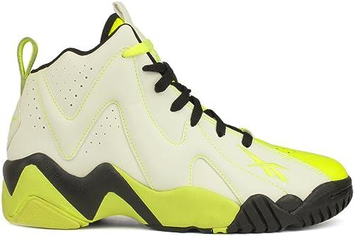 Men's Name Brand Reebok Kamikaze II Mid Sneakers Shoe Outlet Colors