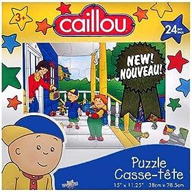 Caillou (Kayu) Puzzle oyunu
