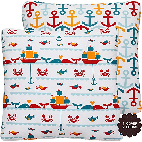 Nautical Themed Bedding 8544 front