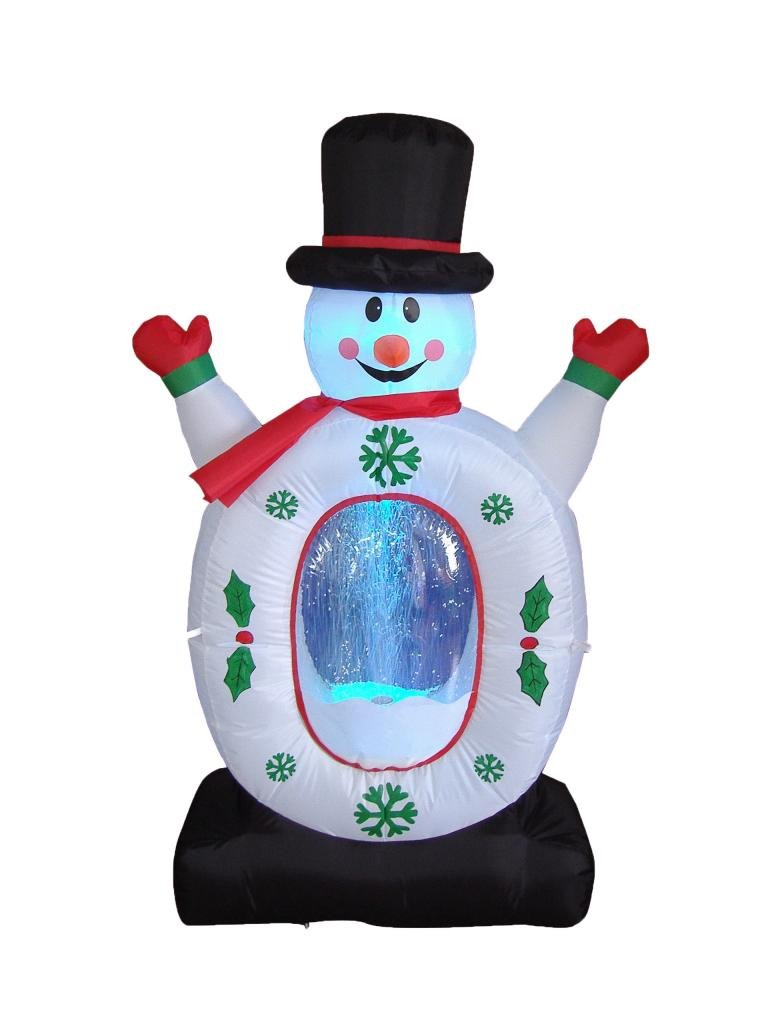 Christmas snowman outdoor inflatables christmas wikii for Outdoor christmas globes