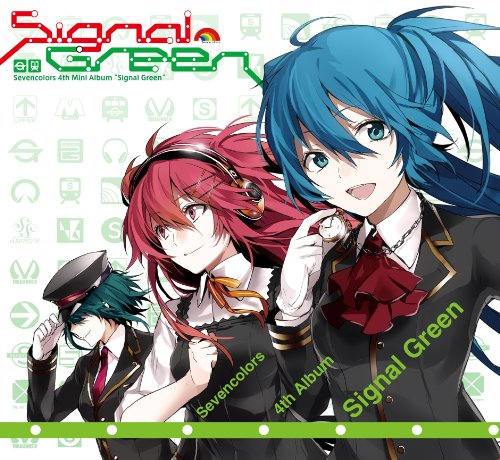 Sevencolors 4th mini album Signal Green(CD+CD-ROM二枚組)