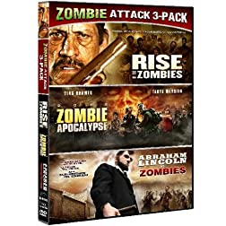 Zombie Triple Feature (Abraham Lincoln Vs. Zombies / Zombie Apocalypse / Rise Of The Zombies)