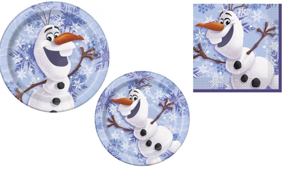Disney Frozen Olaf Party Pack for 8 Guests пазл disney frozen 3d 240