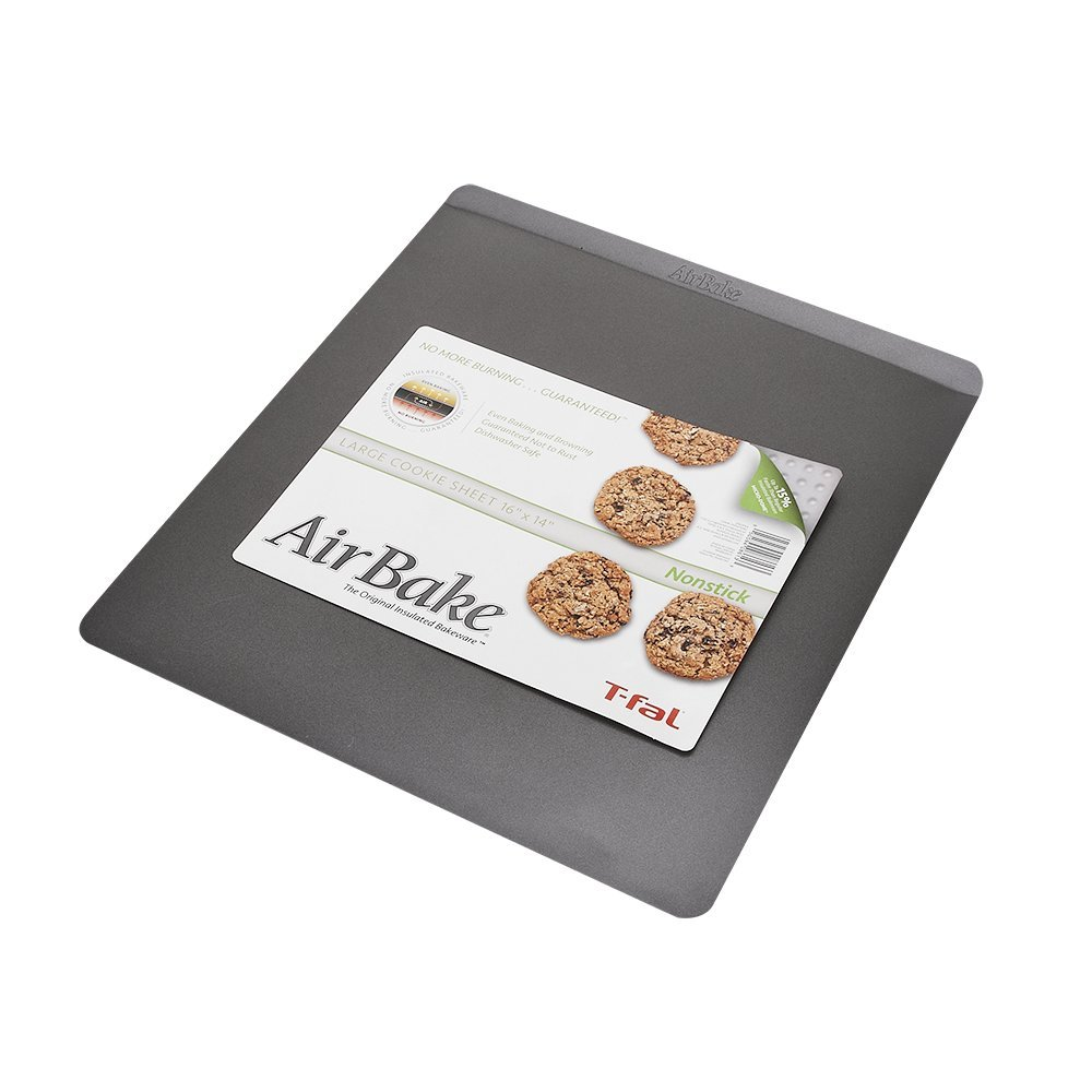 The Airbake nonstick 14 by 16-inch cookie sheet