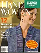 Handwoven Magazine, September/October 2012…