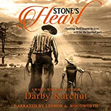 Stone's Heart Audiobook by Darby Karchut Narrated by Leonor A. Woodworth