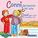 Conni übernachtet bei Julia / Conni geht nicht mit Fremden mit: 1 CD (Meine Freundin Conni - ab3)