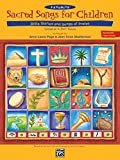 img - for Favorite Sacred Songs for Children: Bible Stories and Songs of Praise: Unison or 2-Part Voices book / textbook / text book