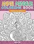 Animal Mandalas Coloring Book   Child...