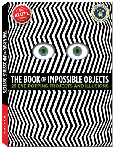 The Book Of Impossible Objects: 25 Eye-Popping Projects To Make, See & Do front-84896