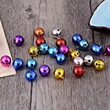 Generic Multi, 12mm : 10pcs/lot New Fashion Word Color Copper Bell DIY Handmade Bell Pet Supplies Christmas Bells...
