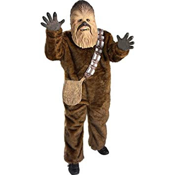 Star Wars Chewbacca Super Deluxe Child Costume - Medium - Kid's Costumes by Unknown