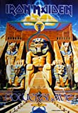 Bioworld Merchandising - Iron Maiden poster tissu Powerslave 75 x 110 cm