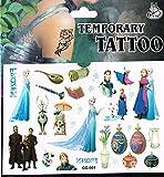 3 x Packets Frozen Tattoo Elsa Tattoo Frozen Party Bag Tattoo Frozen Party Tattoo