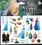 3 x Packets Frozen Tattoo Elsa Tattoo...