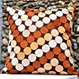 Cushion Casa Cushion Covers (Brown) - B00NMC8YNS
