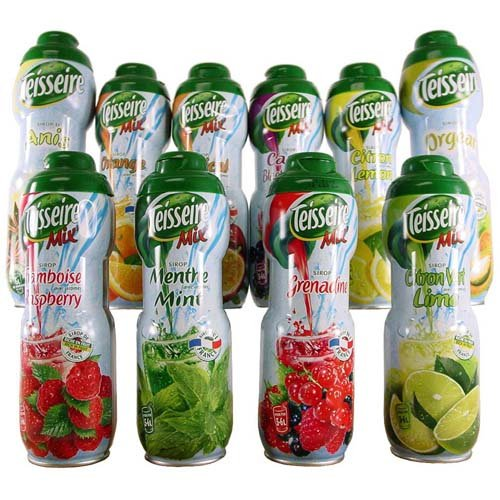 Assortment Deal Teisseire Syrups Assortment Combo: one each of all 12 flavors