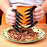 ♦Strong Claw ♦ Pulled Pork Shredder Bear Claws-FREE SPONGE- Meat Handlers BBQ Forks for Shredding Pulling Handling From Grill Smoker-Heat Resistant Barbecue Paws Tools-BPA Free
