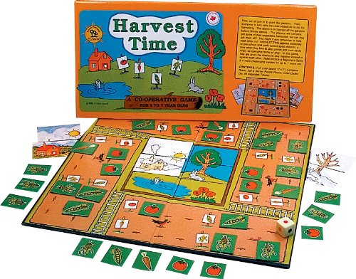 Family Pastimes / Harvest Time  A Cooperative Game Picture