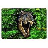 [FOR U DESIGNS]個性的な柄 マット 滑り止め付き ドアマット バスマット mat 保護マット doormat 約60CM*40CM 恐竜2