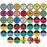Two Rivers Assorted Tea Sampler Pack for Keurig K-Cup Brewers, 40 Count
