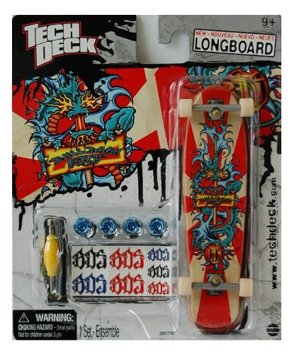 Tech Deck Exclusive Longboard 120mm Bds Japan Water Dragon Skateboard Larger Than 96mm