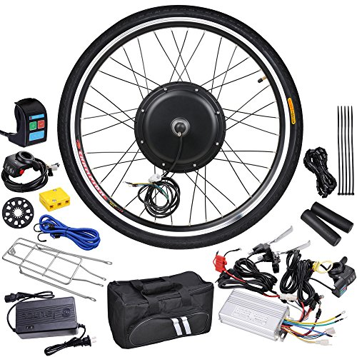 AW-26x175-Front-Wheel-48V-1000W-470RPM-Electric-Bicycle-Hub-Motor-Speed-Control-Conversion-Kit-PAS-System
