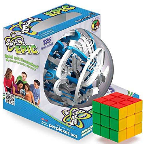 The Epic Brain-Bending Bundle: Perplexus Epic and a Brybelly Puzzle Cube (Space Jam Puzzle compare prices)