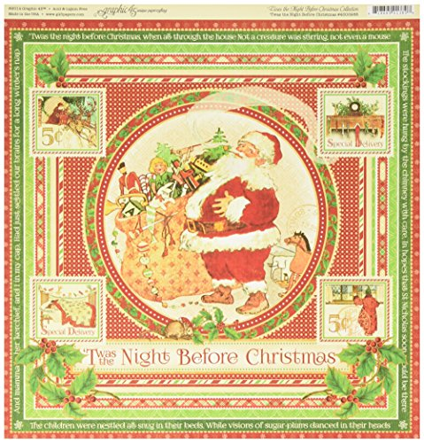 graphic-45-twas-the-night-before-christmas-double-sided-12x12-cardstock-4500986