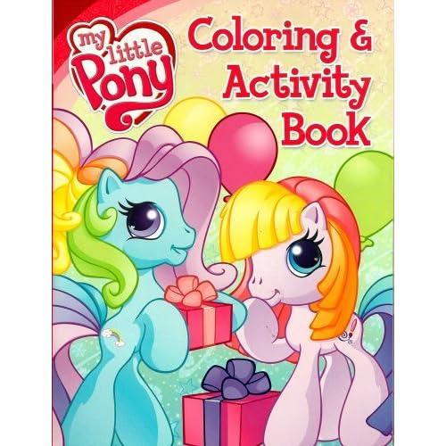 Amazon.com: My Little Pony Coloring Book and Activity - Rainbow Dash