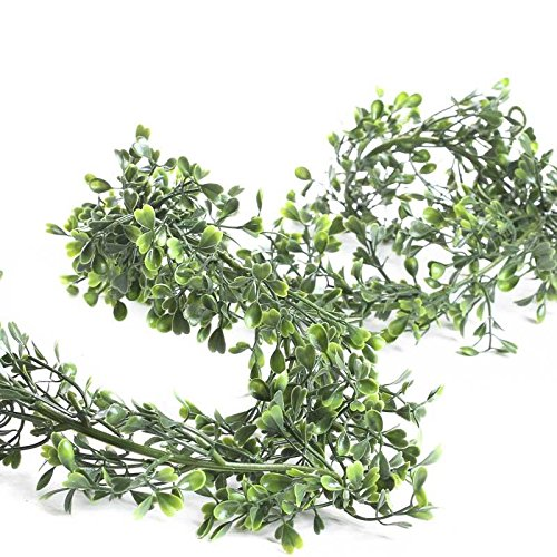 Factory Direct Craft® 6' Lightweight Green Artificial Lovely Boxwood Garland for Home Decor, Floral Arranging and Designing
