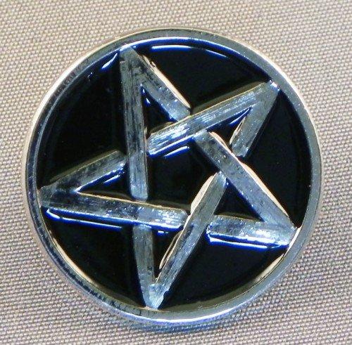 pin-de-metal-esmaltado-insignia-broche-pentagram-cromo-y-negro-pentangle
