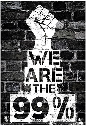We are the 99 Percent Poster 13 x 19in (99 Cent Posters compare prices)