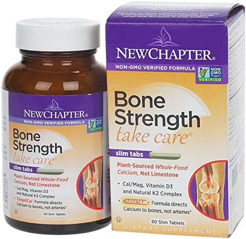 New Chapter - Bone Strength Take Care, 60 Tablets - Amazon Vine