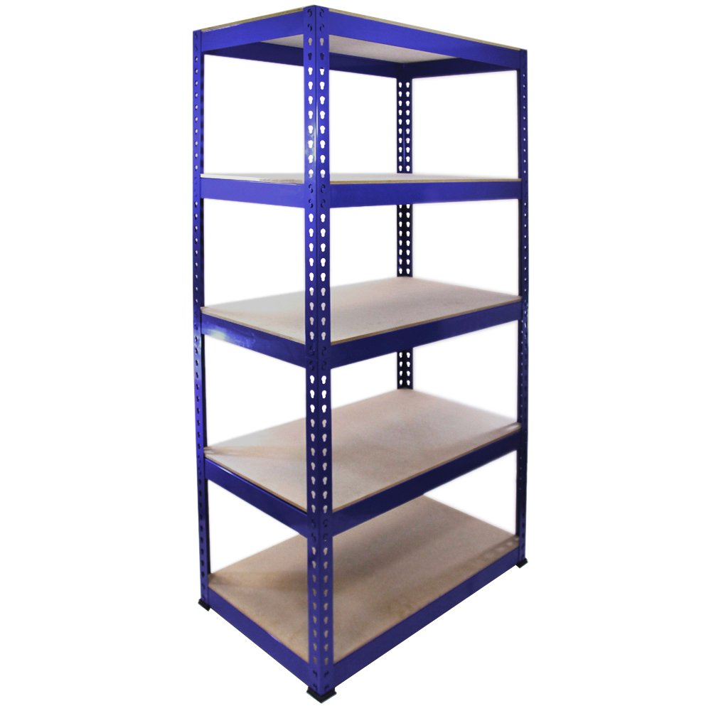 Monster Racking 7001 90 x 50 x 180 cm Steel Shelving Units/ Racking Bays, Pack of 1, Blue       Customer review and more information