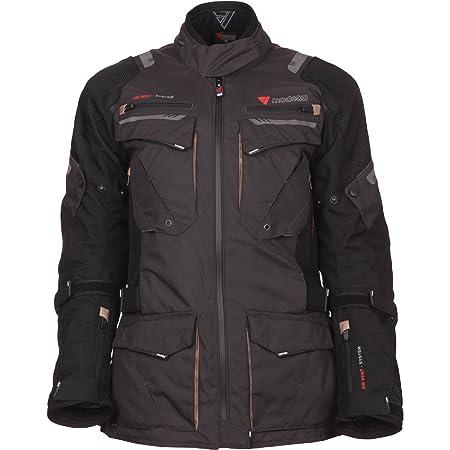 Modeka x-rENEGADE veste de moto pour femme de randonnée-noir/gris foncé