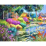 Beautiful Painting On Canvas For Home Decor Digitally Printed 18 Inch X 12 Inch Interior Design Wall Decor