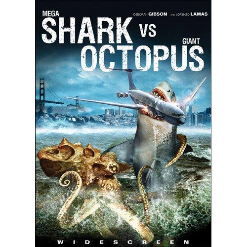 mega shark vs giant octopus at the shark shop