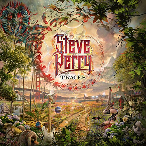 Vinilo : Steve Perry - Traces (Limited Edition, 180 Gram Vinyl, Lenticular Cover)