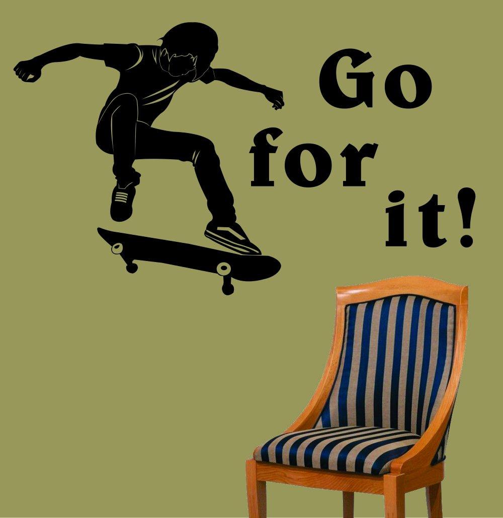 Skateboard Bedroom Decor Rockin Skateboard Decor Webnuggetzcom